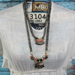 Jewelry - Statement Necklace Double Strand